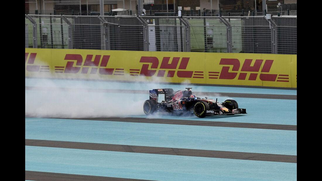 Daniil Kvyat - GP Abu Dhabi 2016