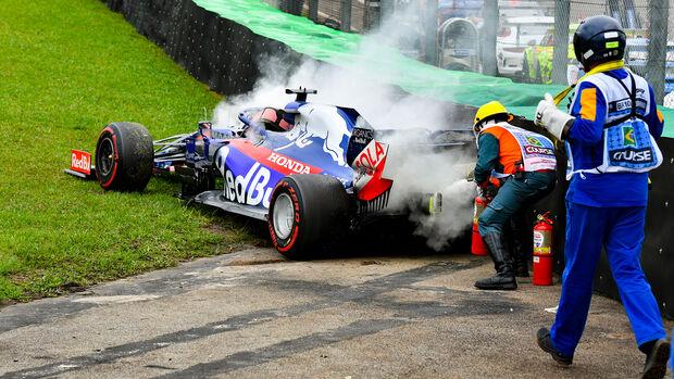 Daniil Kvyat - GP Brasilien 2019