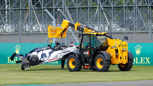 Daniil Kvyat - GP England 2020