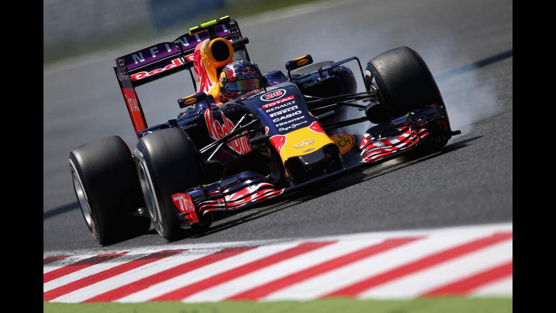 Daniil Kvyat - GP Spanien 2015