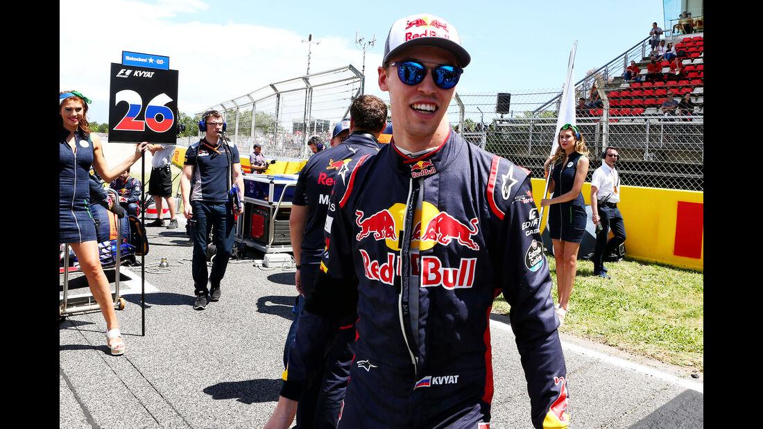 Daniil Kvyat - GP Spanien 2017