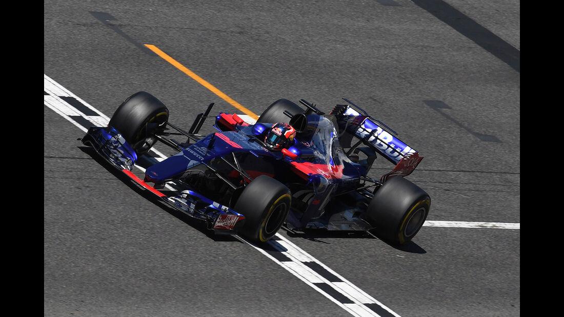 Daniil Kvyat - GP Spanien - Formel 1 - 2017