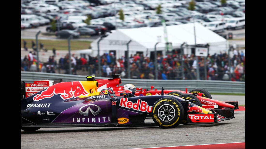 Daniil Kvyat - GP USA 2015