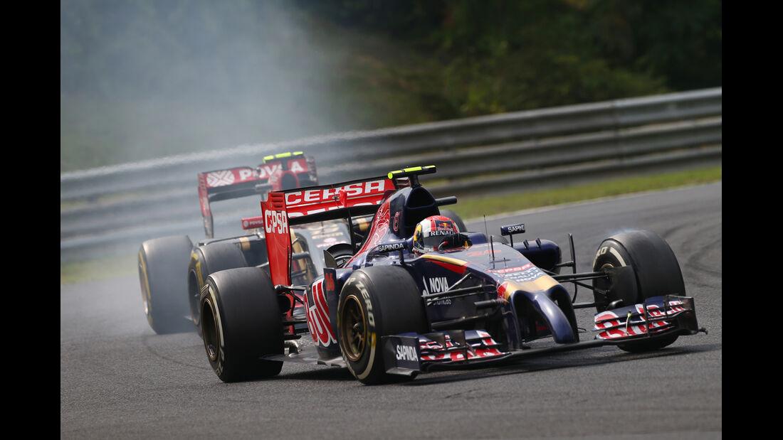 Daniil Kvyat - GP Ungarn 2014