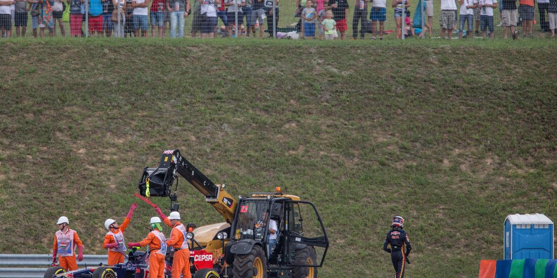 Daniil Kvyat - GP Ungarn 2014 - Danis Bilderkiste