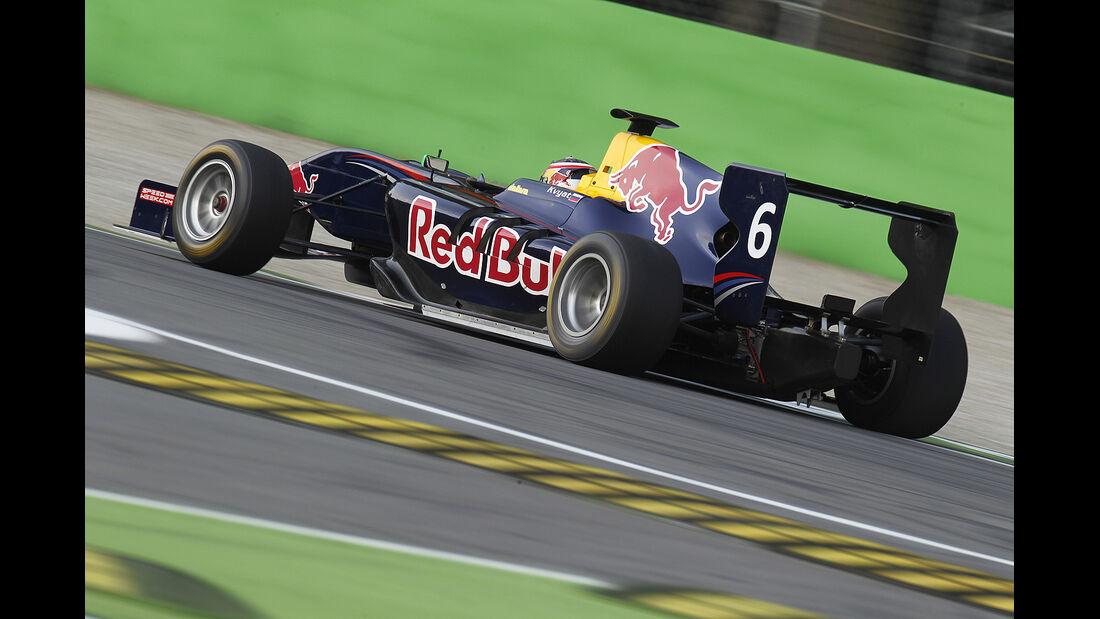 Daniil Kvyat, GP3