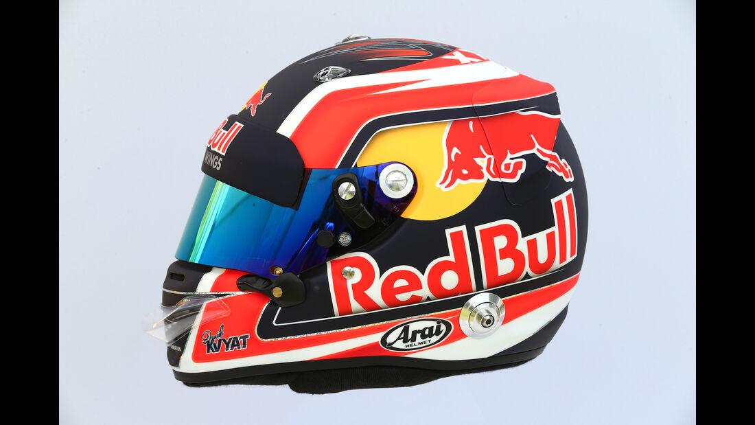 Daniil Kvyat - Helm - Formel 1 - 2017