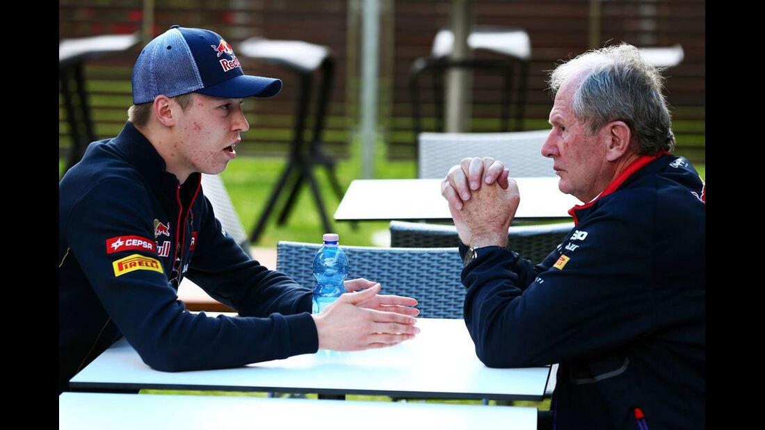 Daniil Kvyat - Helmut Marko  - Formel 1 - GP Australien - 15. März 2014