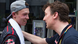 Daniil Kvyat & James Key - Toro Rosso - GP Malaysia 2014