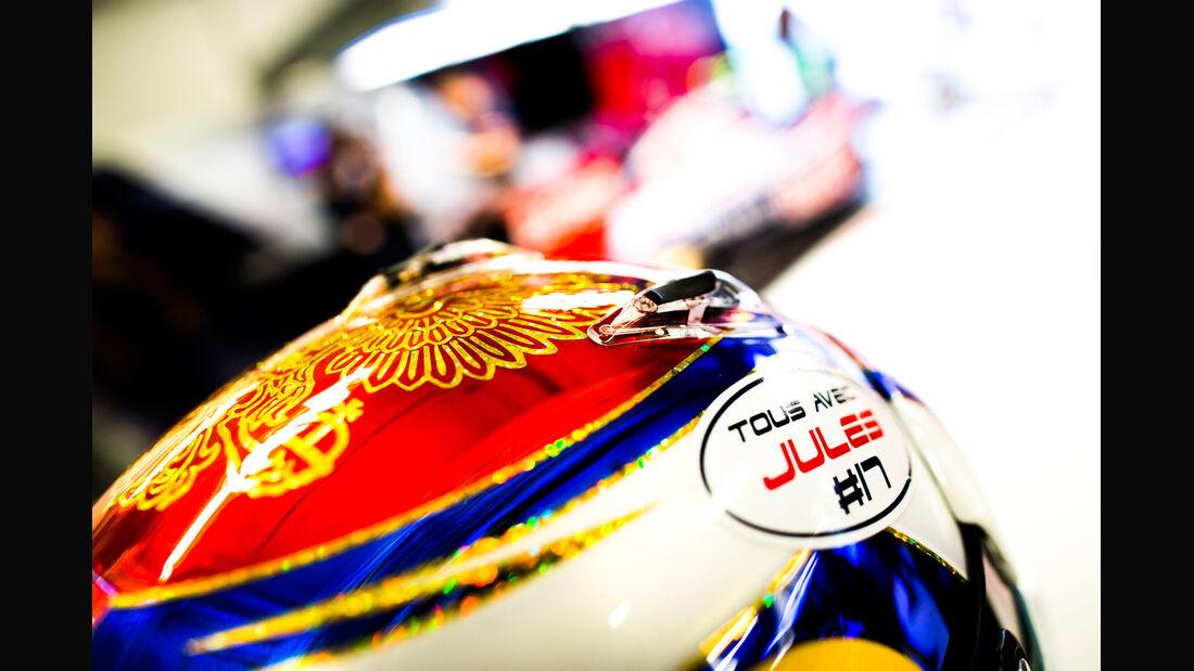 Daniil Kvyat - Jules Bianchi-Tribute - GP Russland 2014
