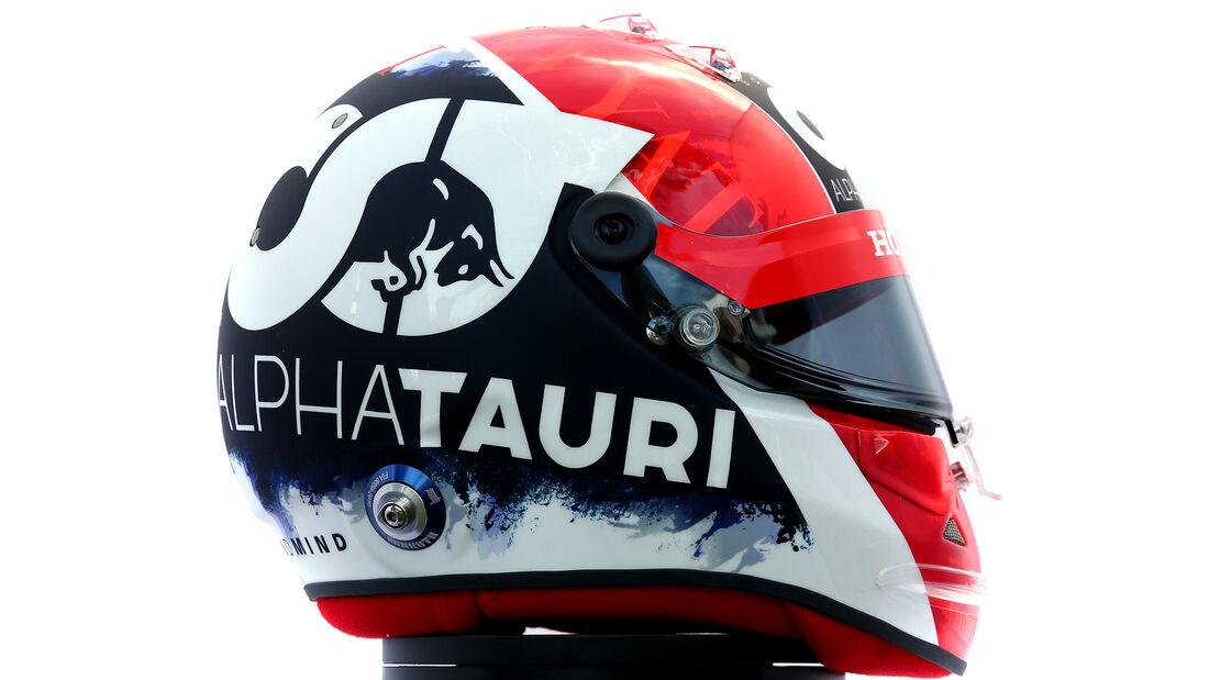 Daniil Kvyat - Porträt & Helm - Formel 1 - 2020