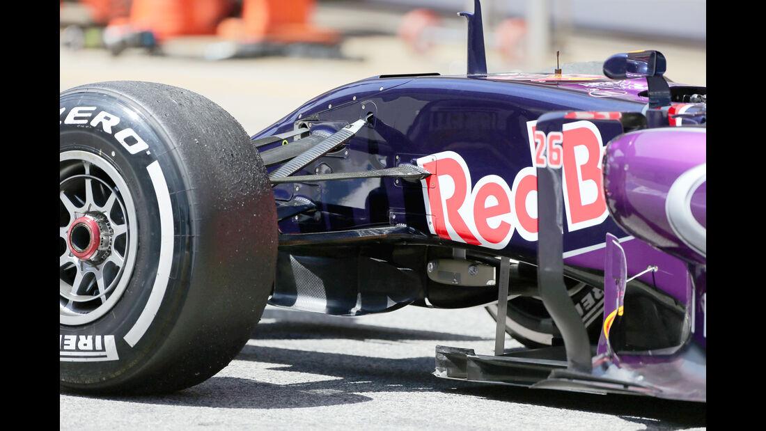 Daniil Kvyat - Red Bull - Barcelona-Test - 12. Mai 2015
