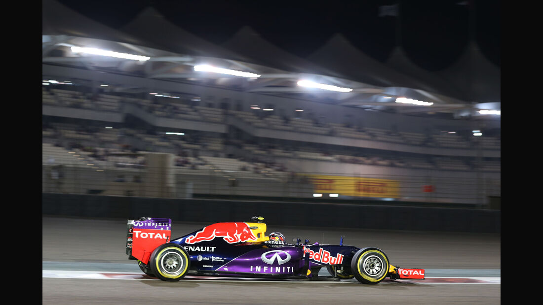 Daniil Kvyat - Red Bull - Formel 1 - GP Abu Dhabi - 27. November 2015