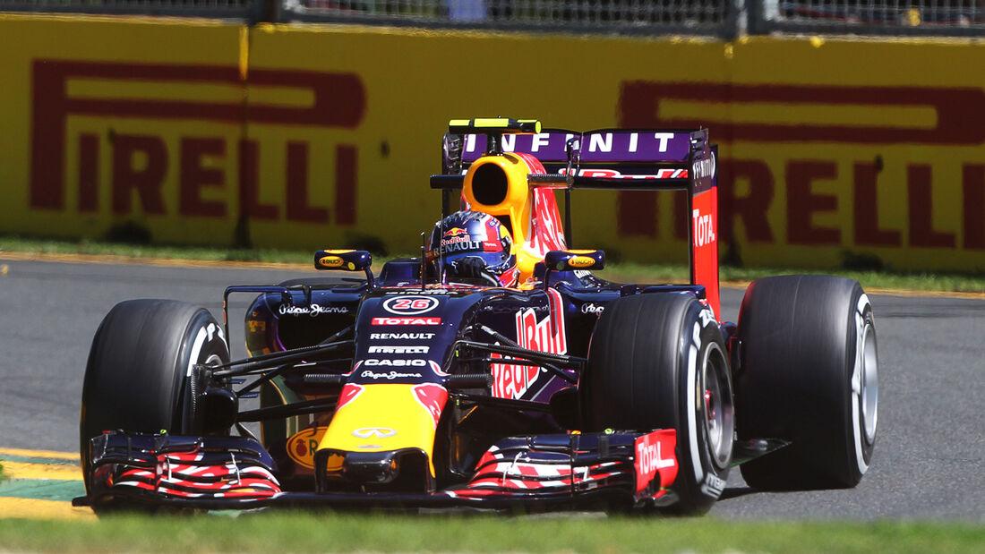 Daniil Kvyat - Red Bull - Formel 1 - GP Australien - 13. März 2015