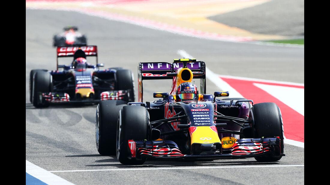Daniil Kvyat - Red Bull - Formel 1 - GP Bahrain - 17. April 2015