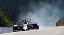 Daniil Kvyat - Red Bull - Formel 1 - GP Belgien - Spa-Francorchamps - 22. August 2015