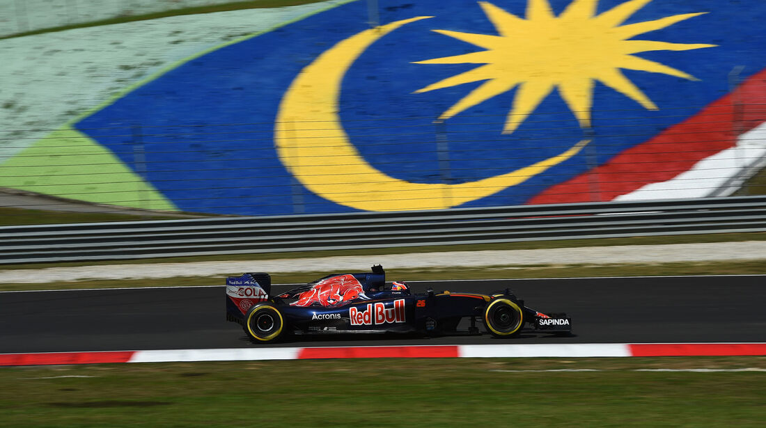 Daniil Kvyat - Red Bull -  Formel 1 - GP Malaysia - Freitag - 30.9.2016
