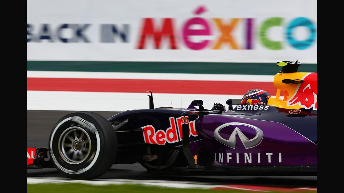 Daniil Kvyat - Red Bull - Formel 1 - GP Mexiko - 31. Oktober 2015