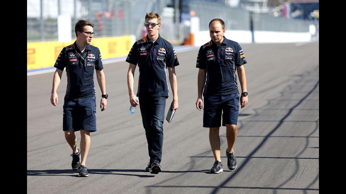 Daniil Kvyat - Red Bull - Formel 1 - GP Russland - Sochi - Donnerstag - 8.10.2015