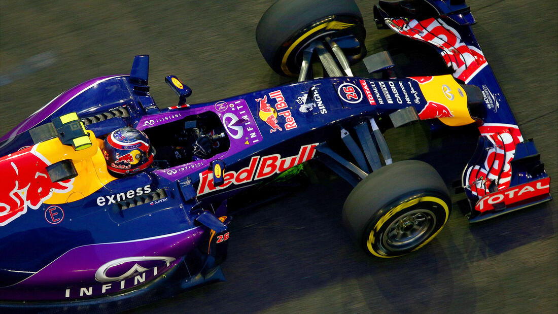 Daniil Kvyat - Red Bull - Formel 1 - GP Singapur - 18. September 2015