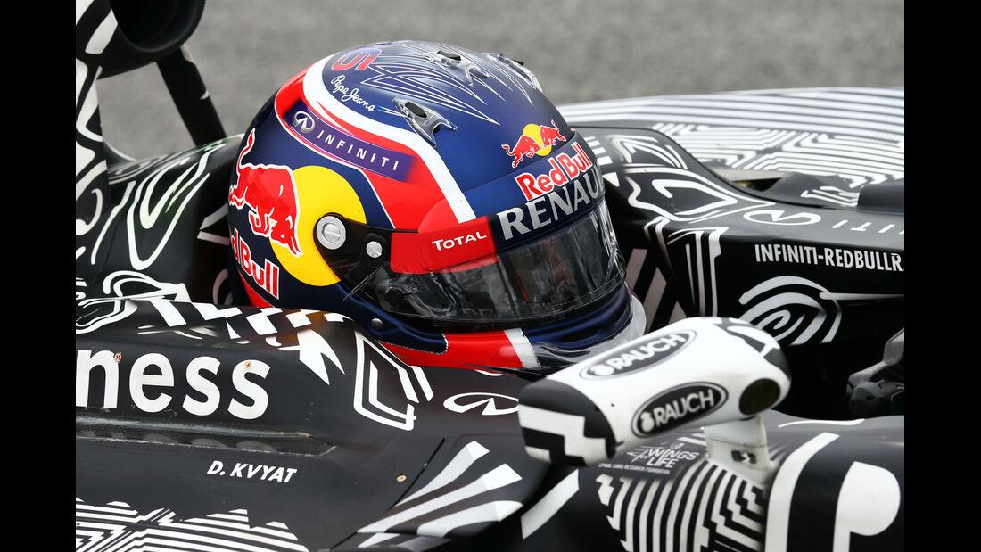Daniil Kvyat - Red Bull - Formel 1-Test - Barcelona - 21. Februar 2015