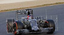 Daniil Kvyat - Red Bull - Formel 1-Test - Barcelona - 27. Februar 2015