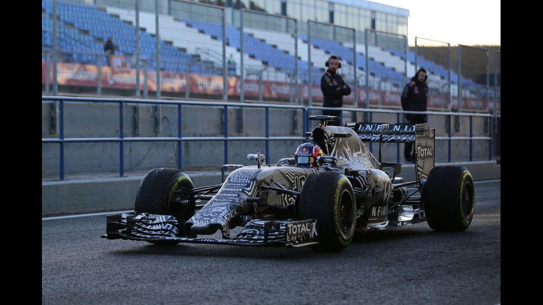 Daniil Kvyat - Red Bull - Formel 1-Test - Jerez - 4. Februar 2015