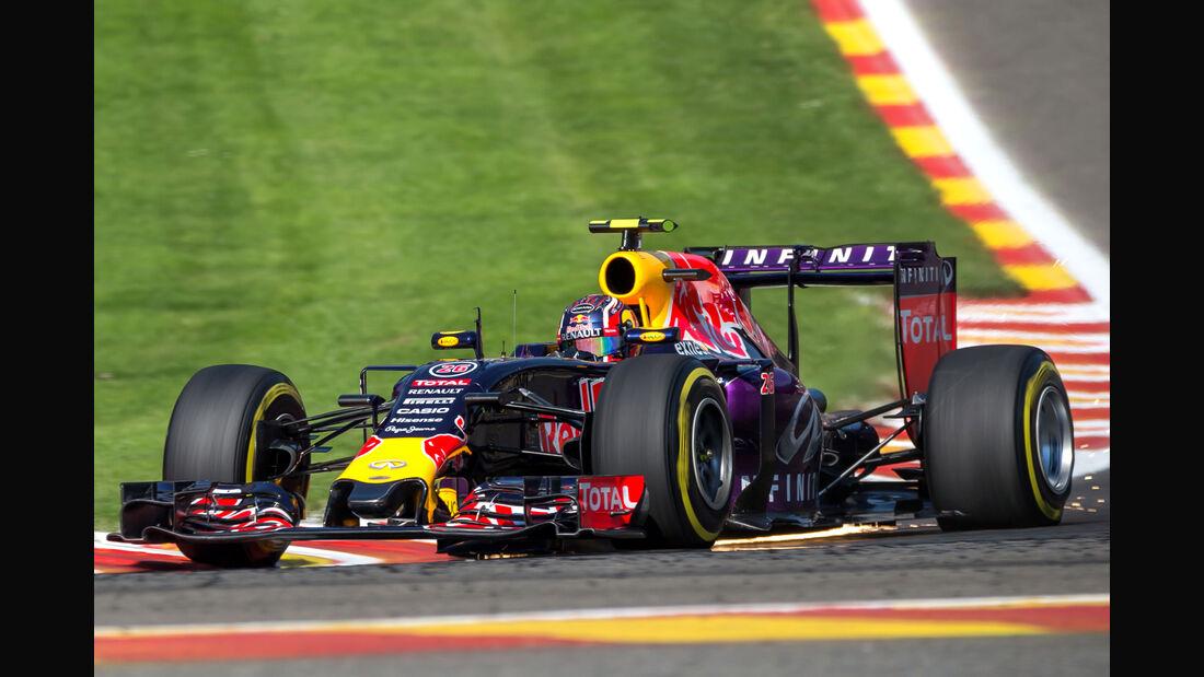 Daniil Kvyat - Red Bull - GP Belgien 2015
