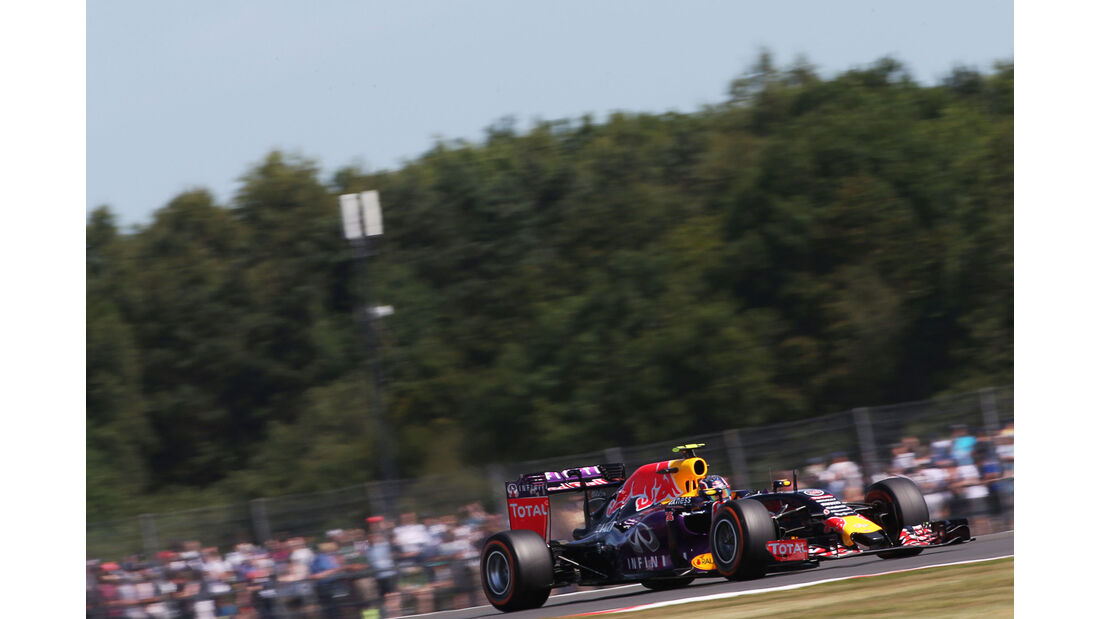 Daniil Kvyat - Red Bull - GP England - Silverstone - Freitag - 3.7.2015