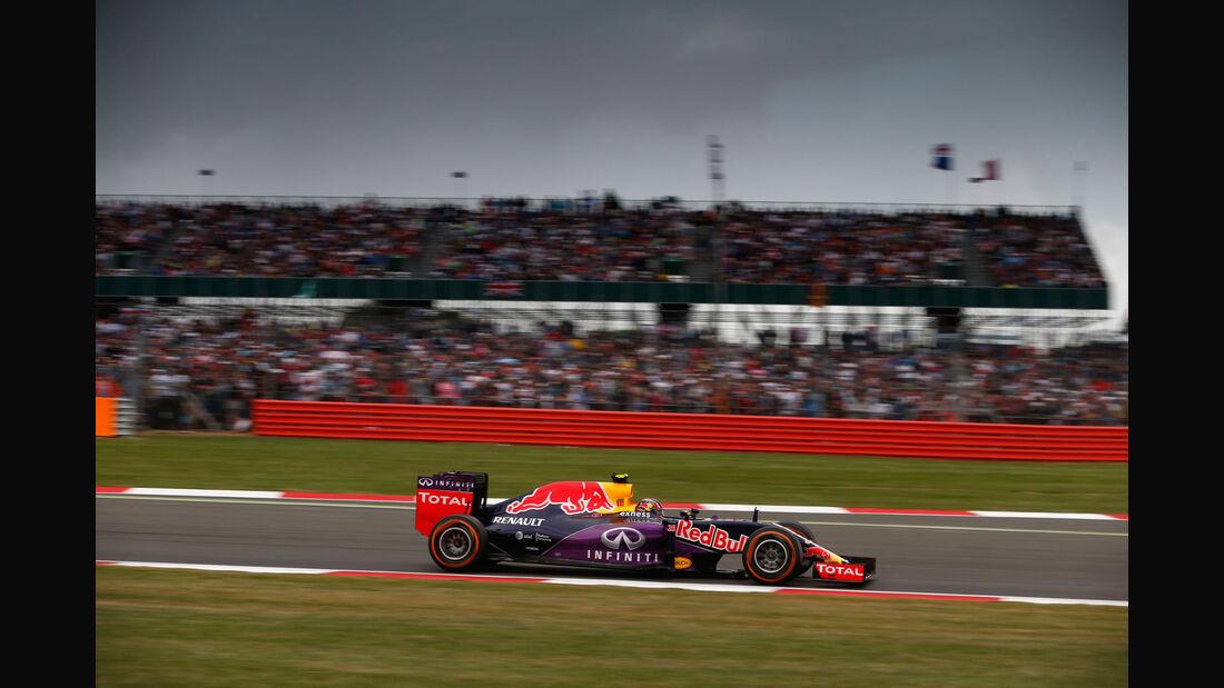 Daniil Kvyat - Red Bull - GP England - Silverstone - Rennen - Sonntag - 5.7.2015