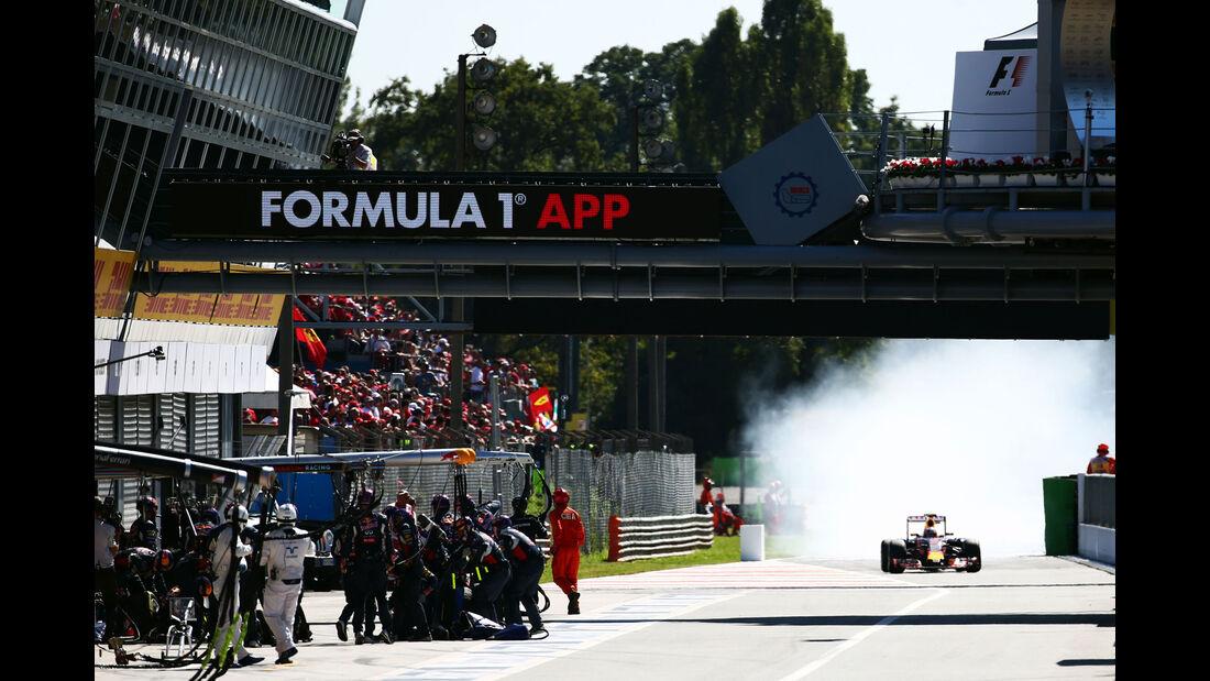 Daniil Kvyat - Red Bull - GP Italien 2015 - Monza