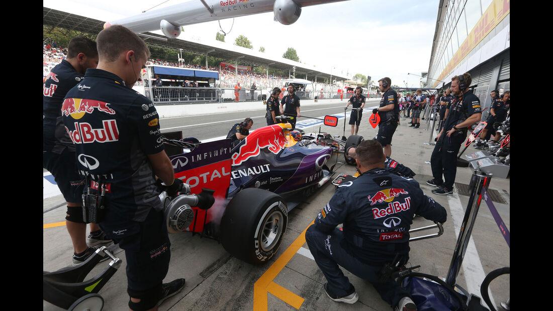 Daniil Kvyat - Red Bull - GP Italien - Monza - Freitag - 4.9.2015