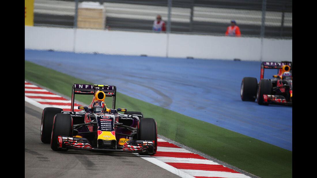 Daniil Kvyat - Red Bull - GP Russland 2015 - Sochi - Rennen