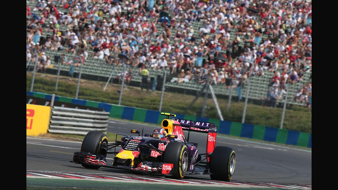 Daniil Kvyat - Red Bull - GP Ungarn - Budapest - Qualifying - Samstag - 25.7.2015