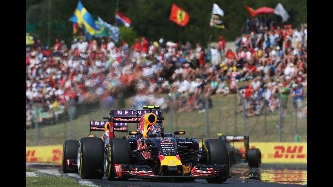 Daniil Kvyat - Red Bull - GP Ungarn - Budapest - Rennen - Sonntag - 26.7.2015