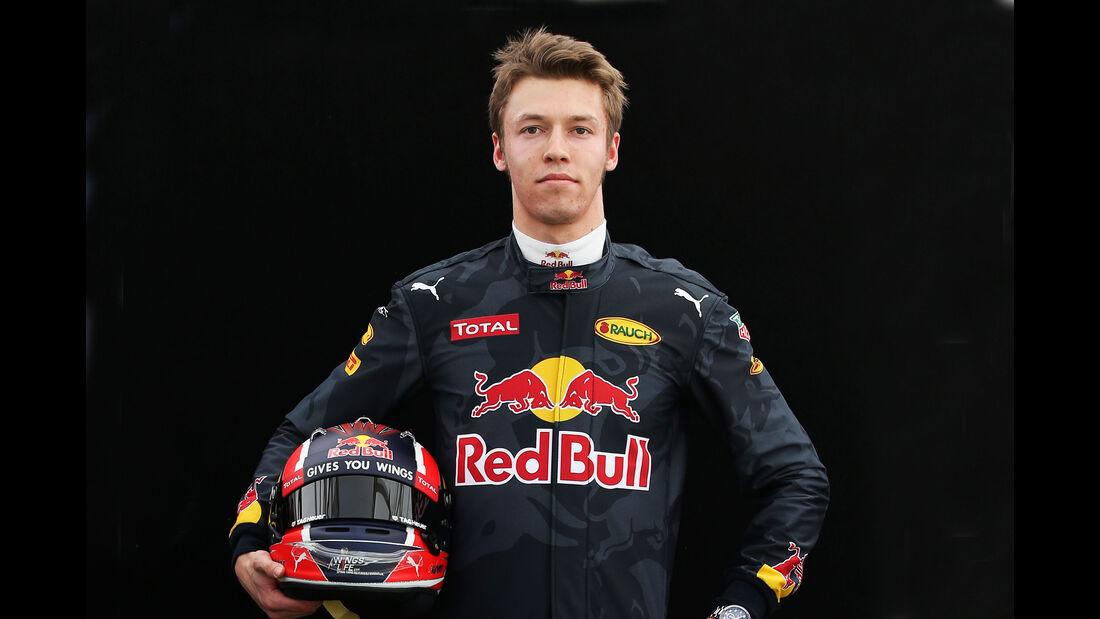 Daniil Kvyat - Red Bull - Porträt - Formel 1 - 2016
