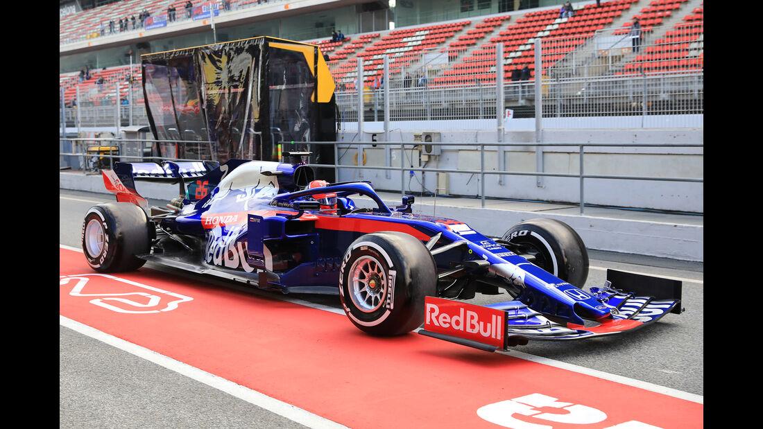 Daniil Kvyat - Toro Rosso - Barcelona - F1-Test - 18. Februar 2019