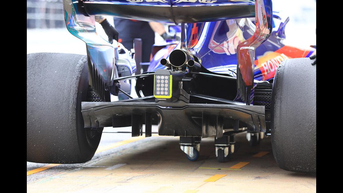 Daniil Kvyat - Toro Rosso - Barcelona - F1-Test - 20. Februar 2019