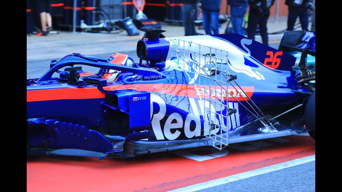 Daniil Kvyat - Toro Rosso - Barcelona - F1-Test - 27. Februar 2019