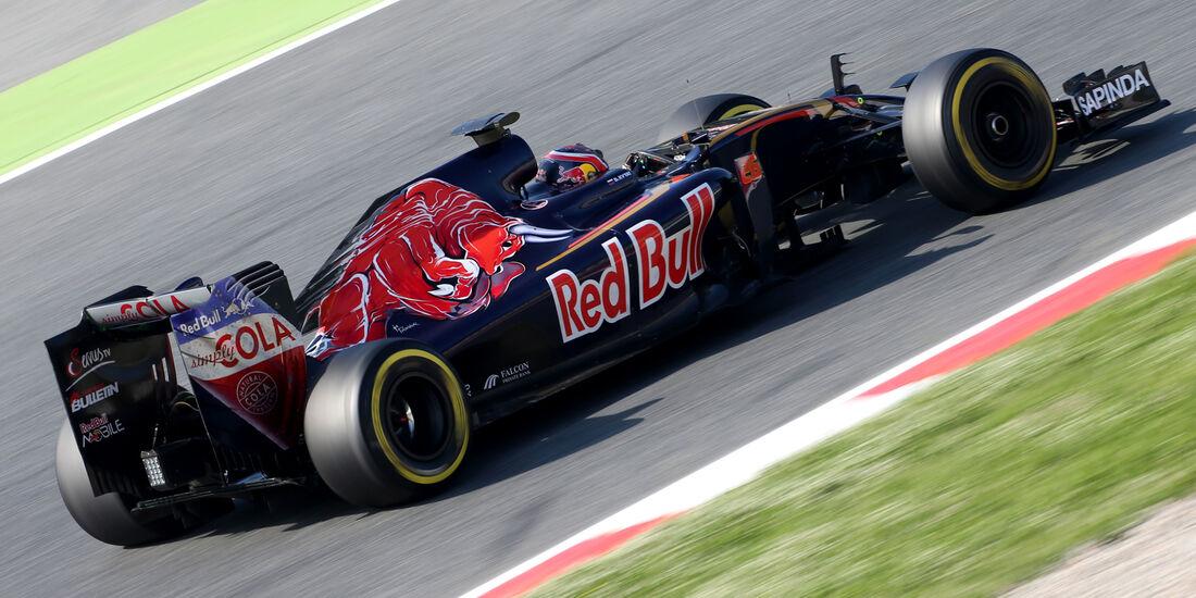 Daniil Kvyat - Toro Rosso - Barcelona Test 2 - 18. Mai 2016