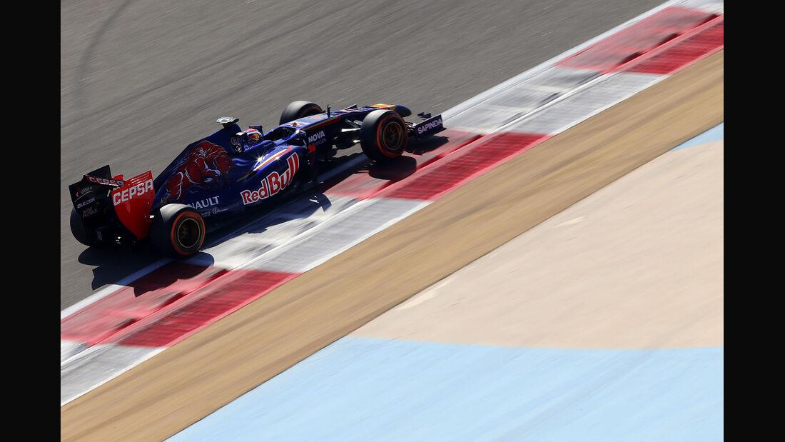 Daniil Kvyat - Toro Rosso - Formel 1- Bahrain - Test - 21. Februar 2014
