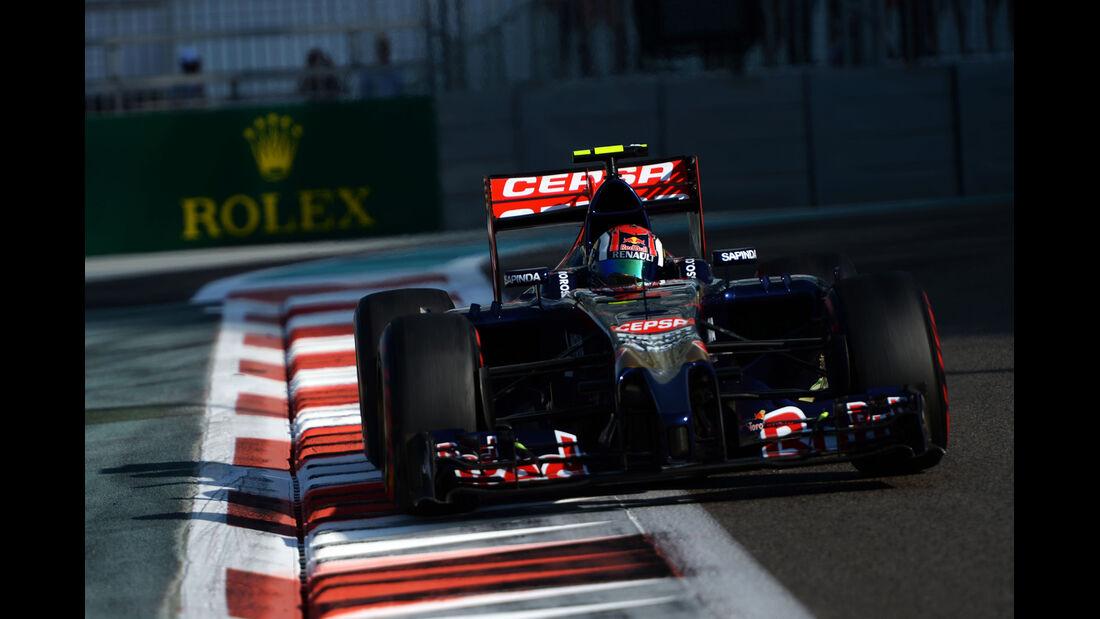 Daniil Kvyat - Toro Rosso - Formel 1 - GP Abu Dhabi - 22. November 2014