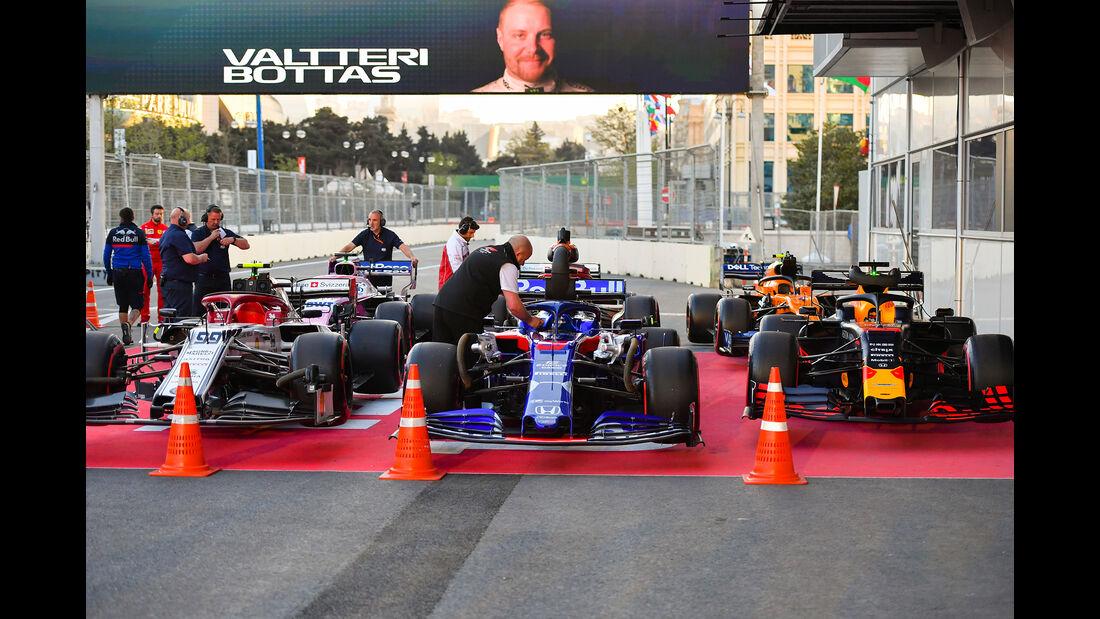 Daniil Kvyat - Toro Rosso - Formel 1 - GP Aserbaidschan - 27. April 2019