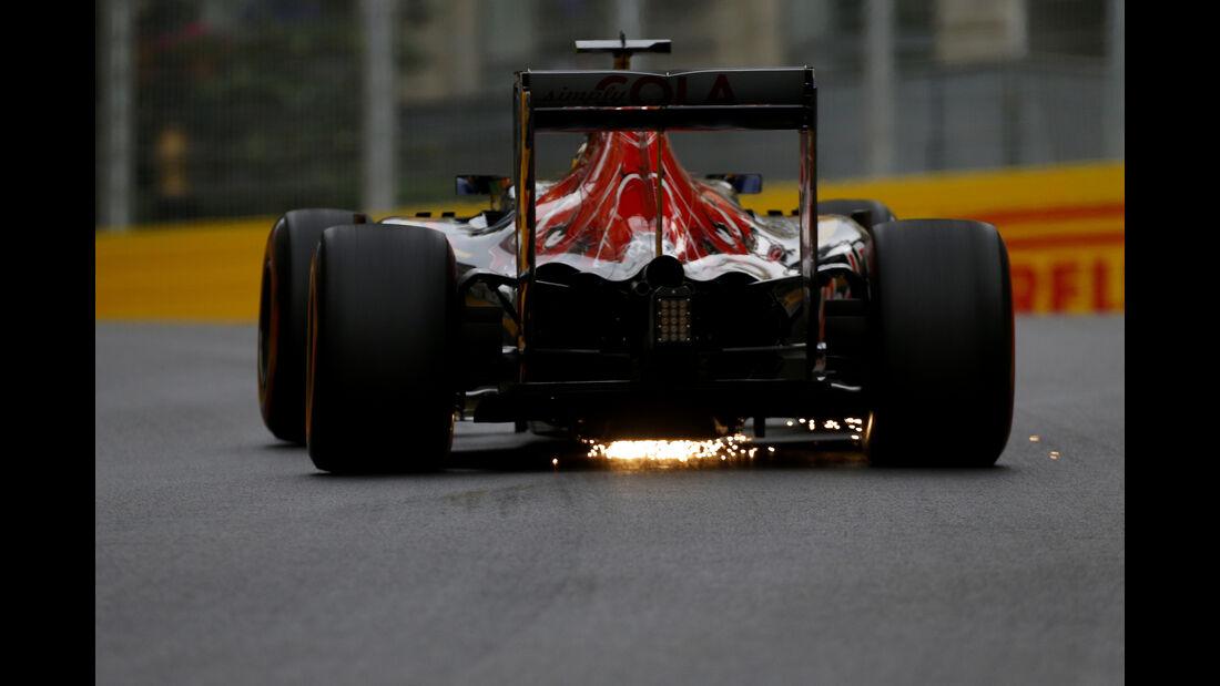 Daniil Kvyat - Toro Rosso - Formel 1 - GP Aserbaidschan - Baku - 17. Juni 2016