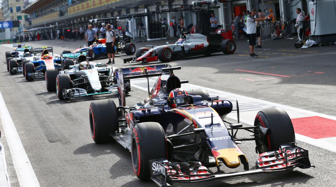 Daniil Kvyat - Toro Rosso - Formel 1 - GP Aserbaidschan - Baku - 18. Juni 2016