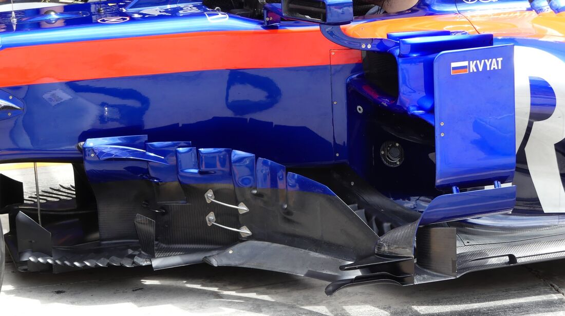 Daniil Kvyat - Toro Rosso - Formel 1 - GP Bahrain - 30. März 2019
