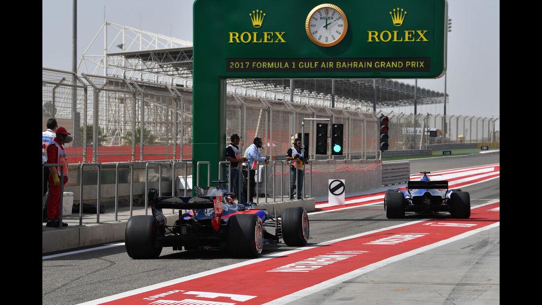 Daniil Kvyat - Toro Rosso - Formel 1 - GP Bahrain - Sakhir - Training - Freitag - 14.4.2017