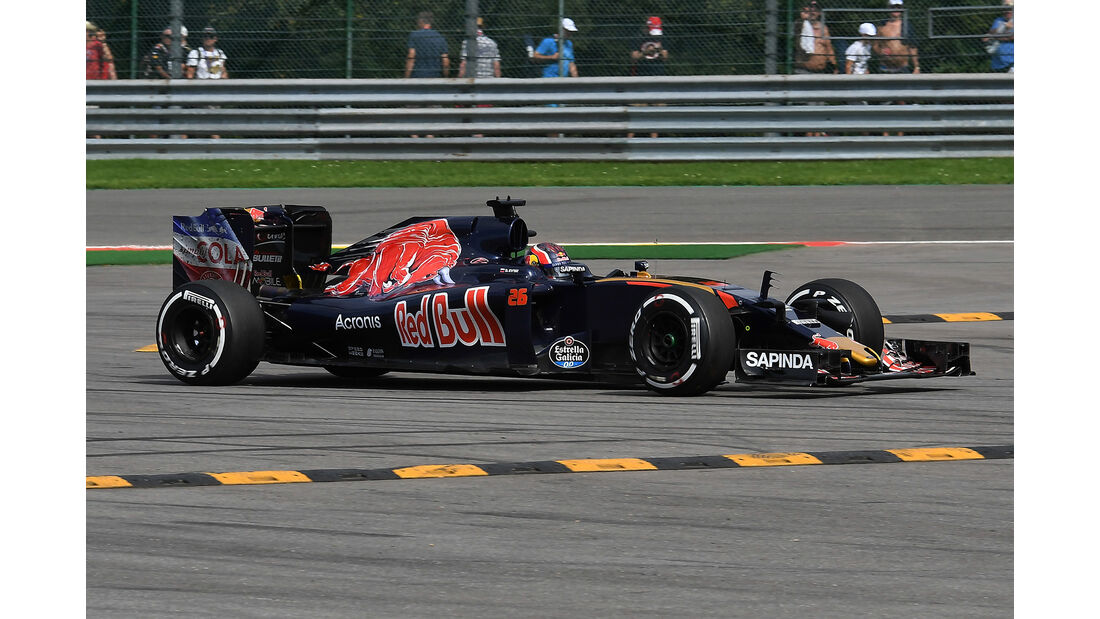 Daniil Kvyat - Toro Rosso - Formel 1 - GP Belgien - Spa-Francorchamps - 26. August 2016