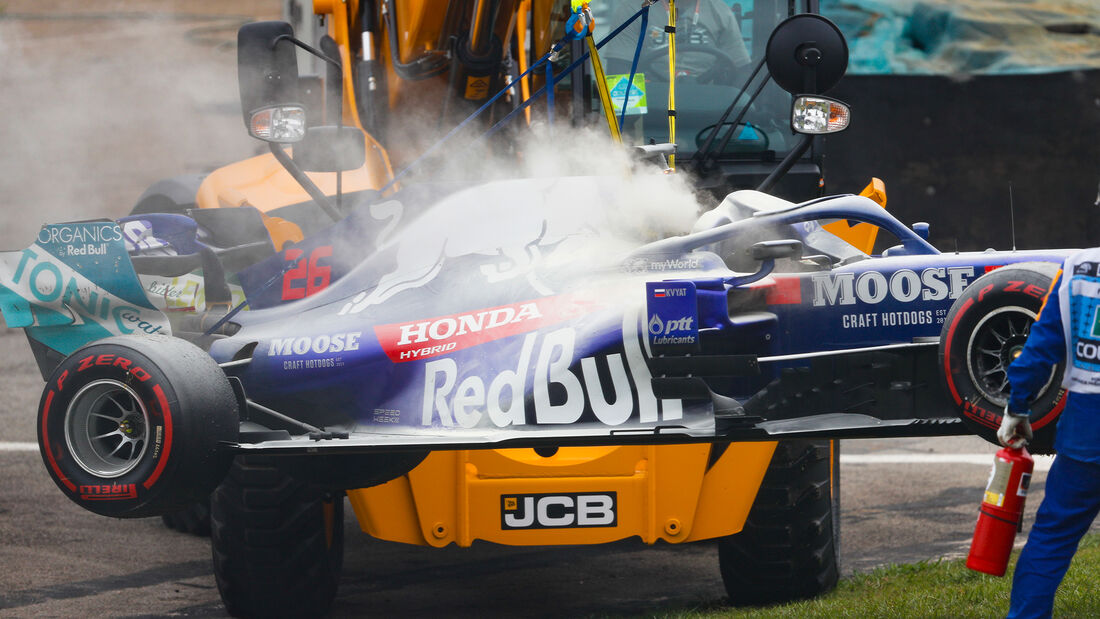 Daniil Kvyat - Toro Rosso - Formel 1 - GP Brasilien - Sao Paulo - 15. November 2019