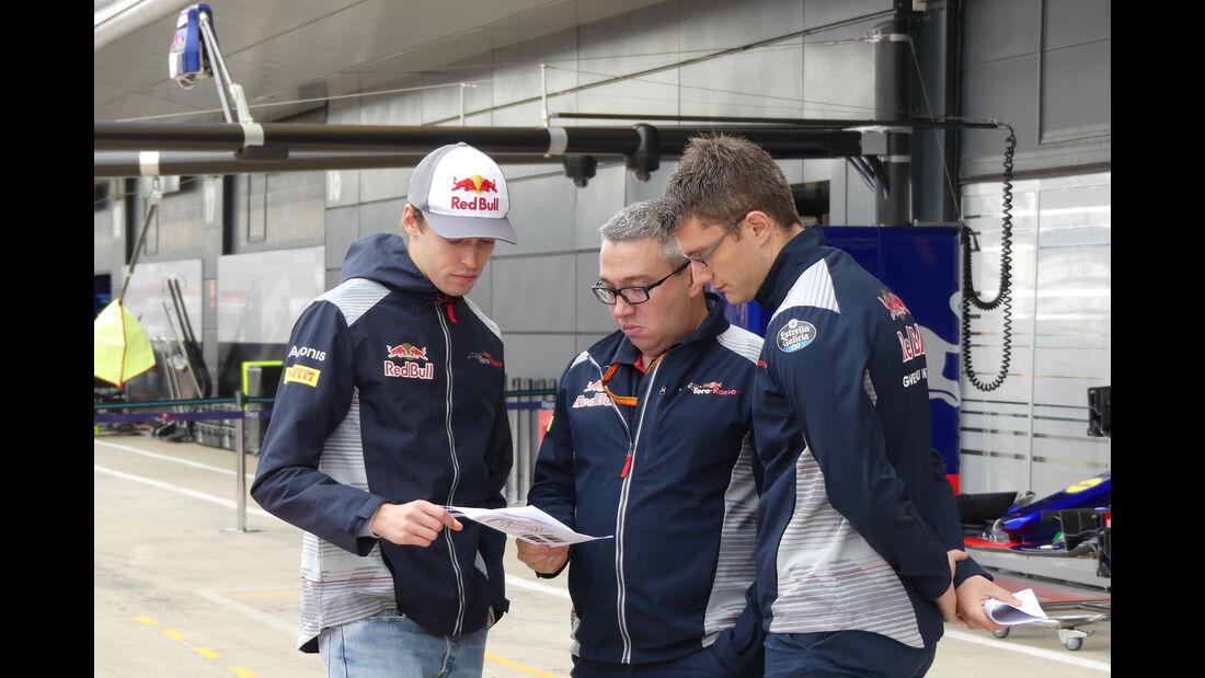 Daniil Kvyat - Toro Rosso - Formel 1 - GP England - 13. Juli 2017
